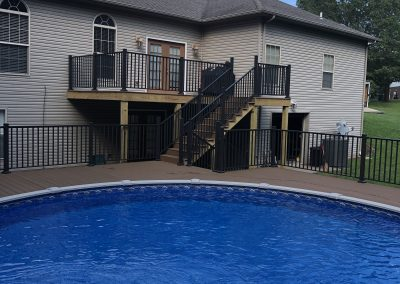 Bronze Railing and Pool1