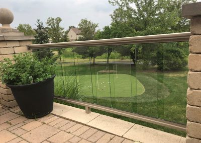 Desert Tan Glass Baluster